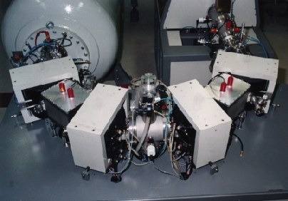 Separator-Recombinator unit of the AMS System